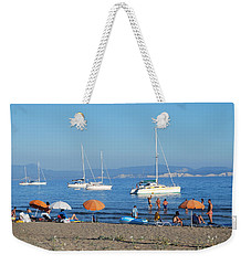 Erikousa Beach One Weekender Tote Bag