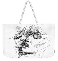 Erotic Art Drawings 15f Weekender Tote Bag
