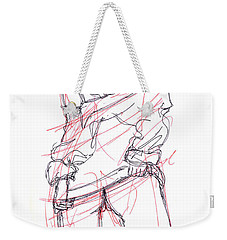 Erotic Art Drawings 6 Weekender Tote Bag