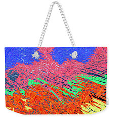 Erupting Lava Meets The Sea Weekender Tote Bag