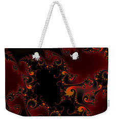 Weekender Tote Bag featuring the digital art Escape Hatch by Elizabeth McTaggart