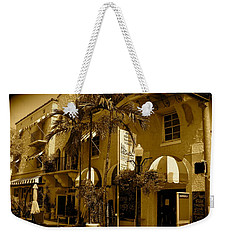 Espanola Way In Miami South Beach Weekender Tote Bag