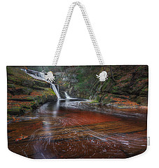 Weekender Tote Bag featuring the photograph Ethereal Autumn by Bill Wakeley