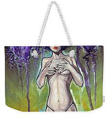 Ethereal Beauty Weekender Tote Bag by Jimmy Adams