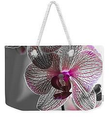 Ethereal Orchid Weekender Tote Bag