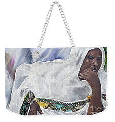 Ethiopian Orthodox Jewish Woman Weekender Tote Bag