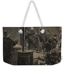 Etievant, The Anarchist Shoots Weekender Tote Bag