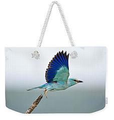 Eurasian Roller Weekender Tote Bag