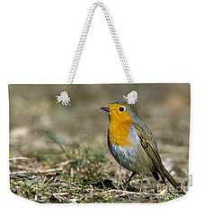 European Robin Weekender Tote Bag by Torbjorn Swenelius