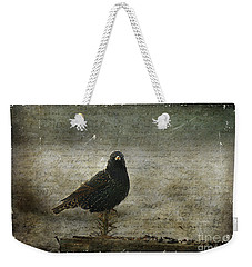 European Starling Weekender Tote Bag