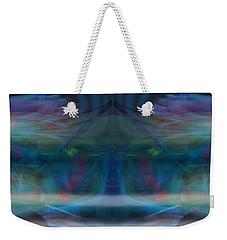 Weekender Tote Bag featuring the digital art Evanesce by Joel Loftus