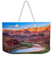 Evening At Cardenas Weekender Tote Bag by Inge Johnsson