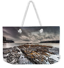 Weekender Tote Bag featuring the photograph Evening At Mill's  Bay by Steven Reed