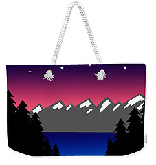 Evening At The Lake Weekender Tote Bag