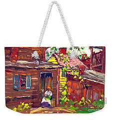 Evening Chore 1910 Weekender Tote Bag