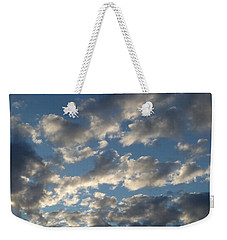 Evening Clouds Weekender Tote Bag