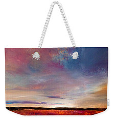 Evening Colours Weekender Tote Bag
