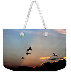 Evening Dance In The Sky Weekender Tote Bag