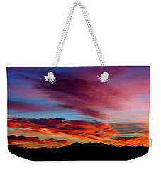 Evening Desert Skies Weekender Tote Bag