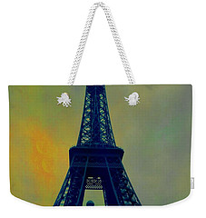 Evening Eiffel Tower Weekender Tote Bag