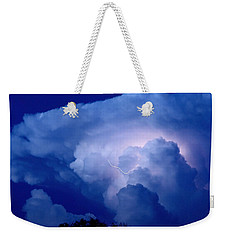 Weekender Tote Bag featuring the photograph Evening Giant by Charlotte Schafer