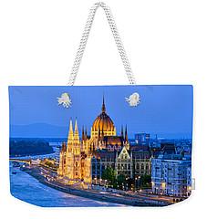 Evening In Budapest Weekender Tote Bag