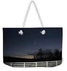Evening In Horse Country Weekender Tote Bag