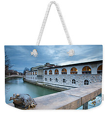 Evening In Ljubljana Weekender Tote Bag