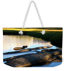 Contemplating Sunset Weekender Tote Bag
