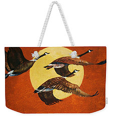 Soaring Migration Weekender Tote Bag
