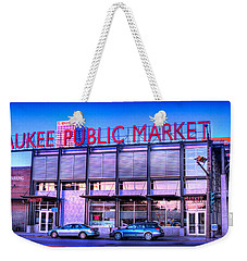 Evening Milwaukee Public Market Weekender Tote Bag
