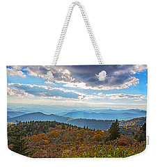 Evening On The Blue Ridge Parkway Weekender Tote Bag