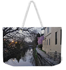 Evening On The Canal Path Weekender Tote Bag
