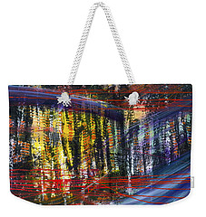 Evening Pond By A Road Weekender Tote Bag