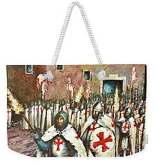 Templar Procession  Weekender Tote Bag