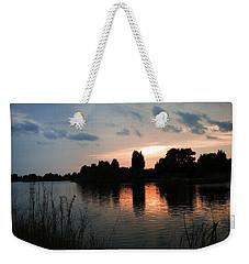 Evening Reflection Weekender Tote Bag