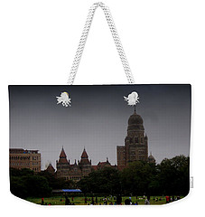 Weekender Tote Bag featuring the photograph Evening by Salman Ravish