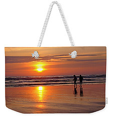 Evening Stroll Weekender Tote Bag by Nick Kloepping