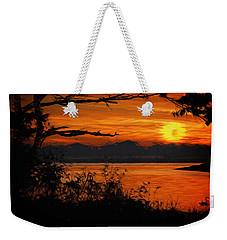 Evening Tide Weekender Tote Bag by Richard Farrington