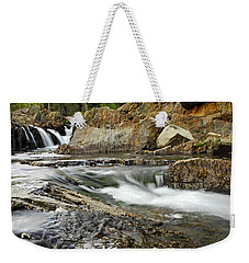 Everything Flows Weekender Tote Bag