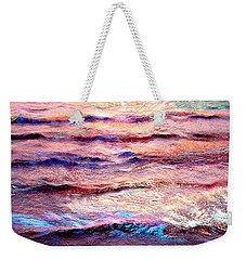 Everything Is Motion - Abstract Art Weekender Tote Bag by Jaison Cianelli