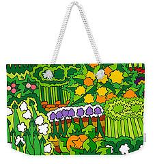 Eve's Garden Weekender Tote Bag by Rojax Art