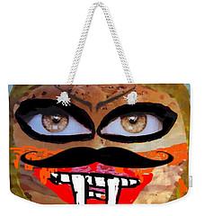 Evil Cheese Sandwhich Weekender Tote Bag
