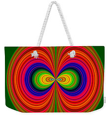 Weekender Tote Bag featuring the photograph Evil Eyes by Larry Bishop