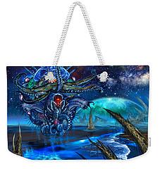 Evolutionary Space Weekender Tote Bag