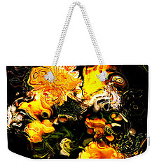 Weekender Tote Bag featuring the digital art Ex Obscura by Richard Thomas