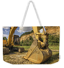 Excavator At Big Rock Quarry - Emerald Park - Arkansas Weekender Tote Bag
