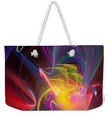 Exceeding Joy Weekender Tote Bag by Margie Chapman
