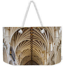 Exeter Cathedral And Organ Weekender Tote Bag