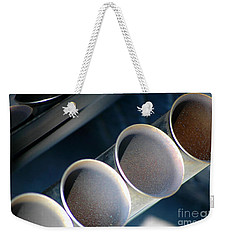 Weekender Tote Bag featuring the photograph Exhuasted by Christiane Hellner-OBrien